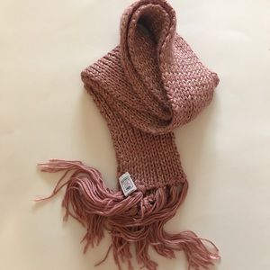 Brand new, pink & gold scarf from Old Navy